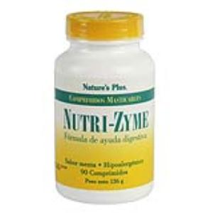 NUTRIZYME  90 comp. Masticable de NATURES PLUS
