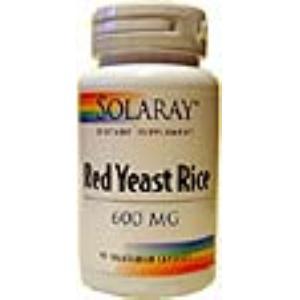 RED YEAST RICE (levadura roja de arroz) 45cap. de SOLARAY