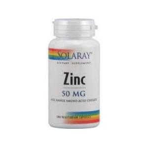 ZINC 50mg. 60cap. de SOLARAY