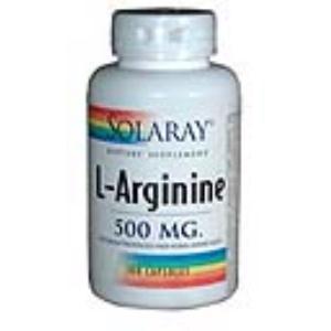 L-ARGININE 500mg. 100cap. de SOLARAY