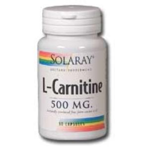L-CARNITINE 500mg. 30cap. de SOLARAY
