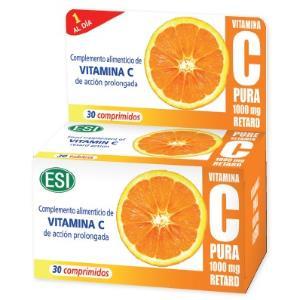 Vitamina C PURA 1000mg. RETARD 30comp.