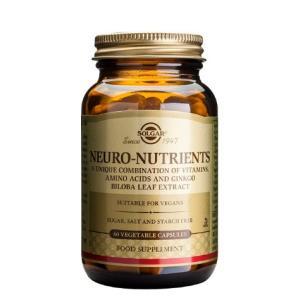 NEURO NUTRIENTS 30vegicaps. de SOLGAR