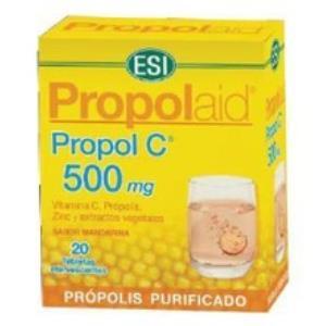 PROPOLAID PROPOL C FRIZZ 500mg. 20comp.eferv.** de TREPATDIET-ESI
