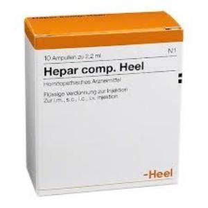 HEPAR COMP. 5 Amp. 2,2 de HEEL