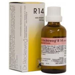 R-14 Dr. Reckeweg 50 ml.QUIETA de DR RECKEWEG